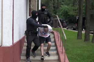 Затримання вагнерівців у Мінську Джерело: КДБ Білорусі/AP